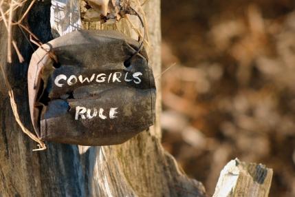 cowgirls rule - dreamstime_m_2888137